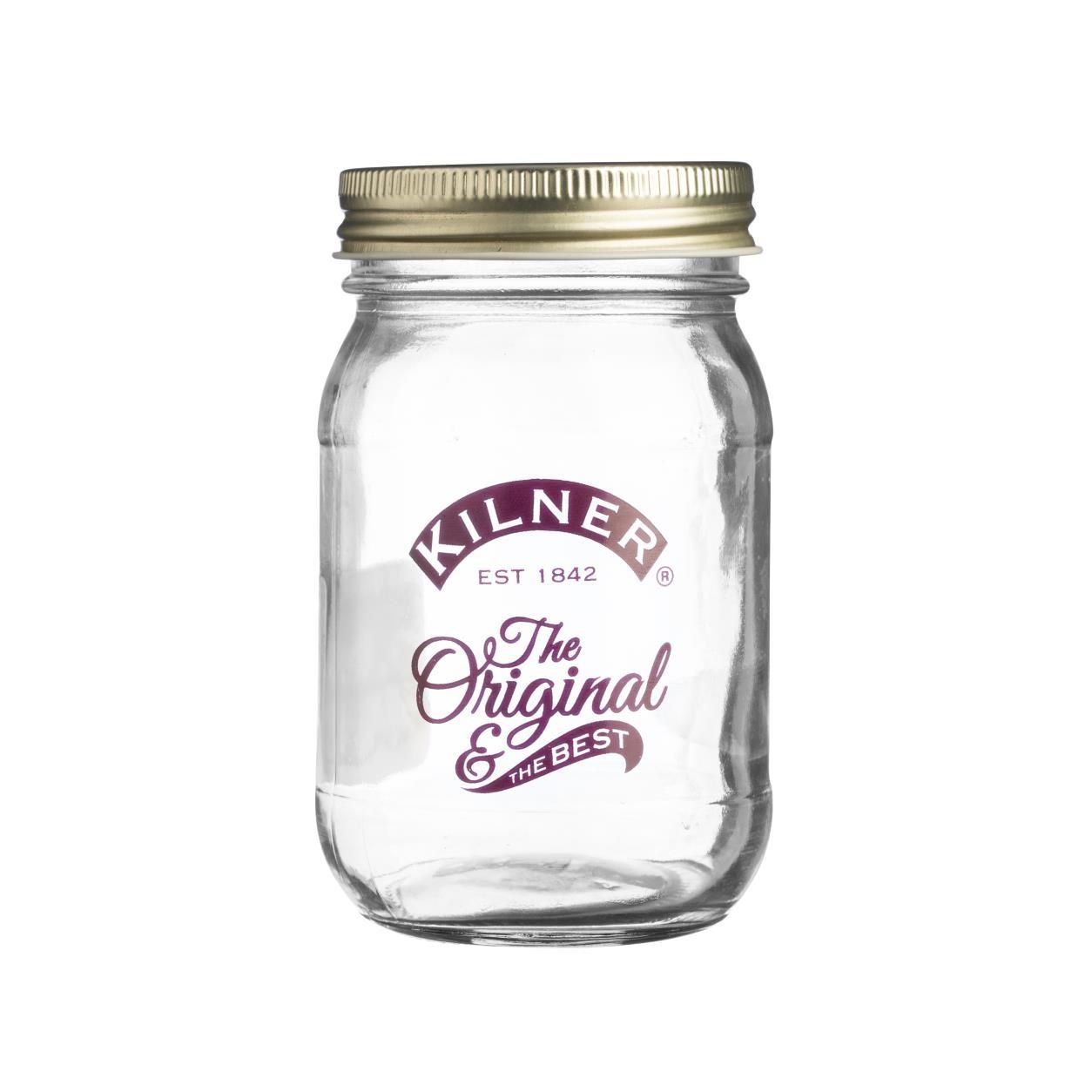 """Šroubovací sklenice 0,4l """"ORIGINAL & BEST"""" - Kilner"""