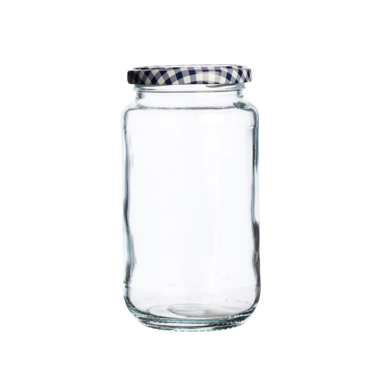 KILNER kulatá sklenice 580 ml, šroubovací - Kilner
