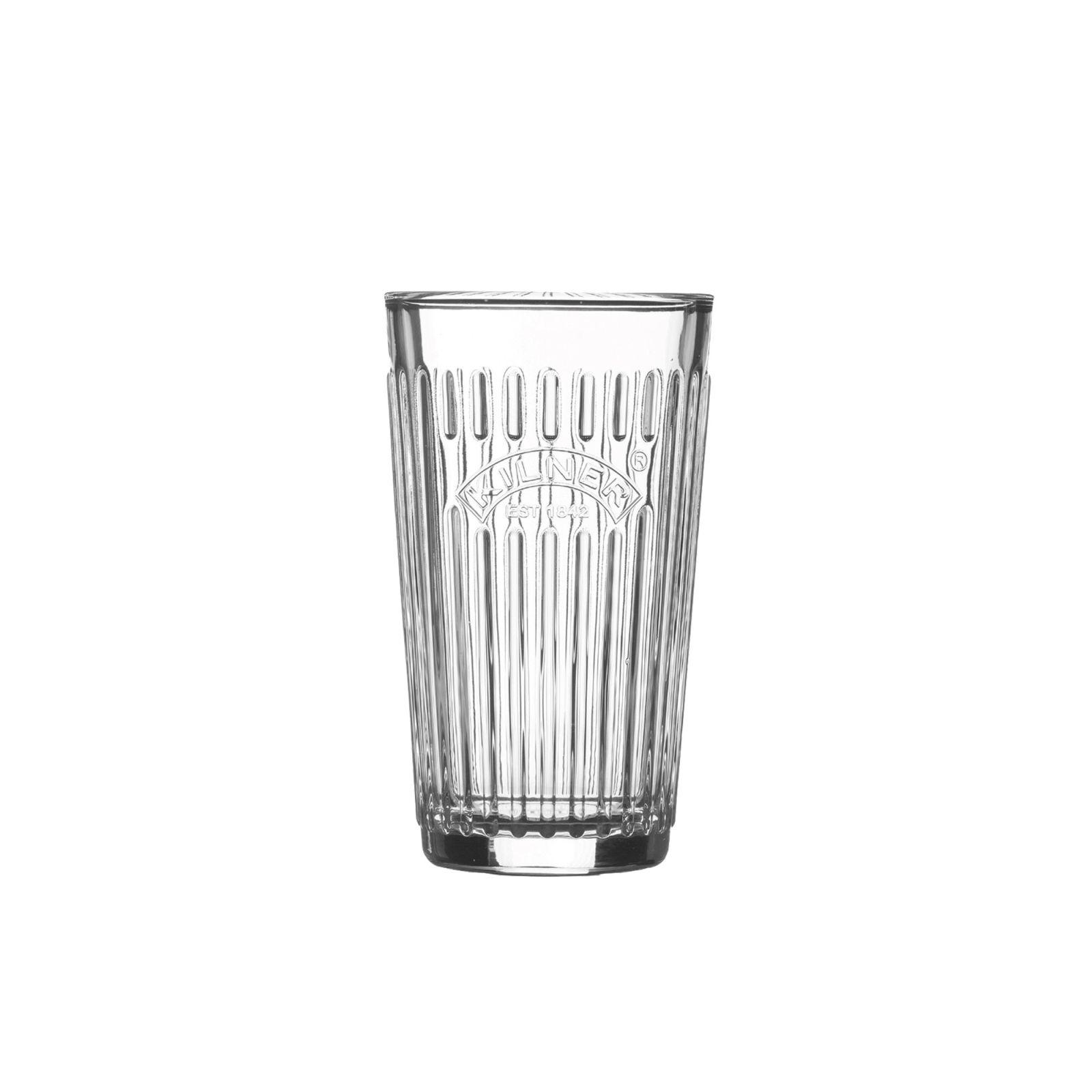 VINTAGE fazetová sklenice 0,38l - Kilner