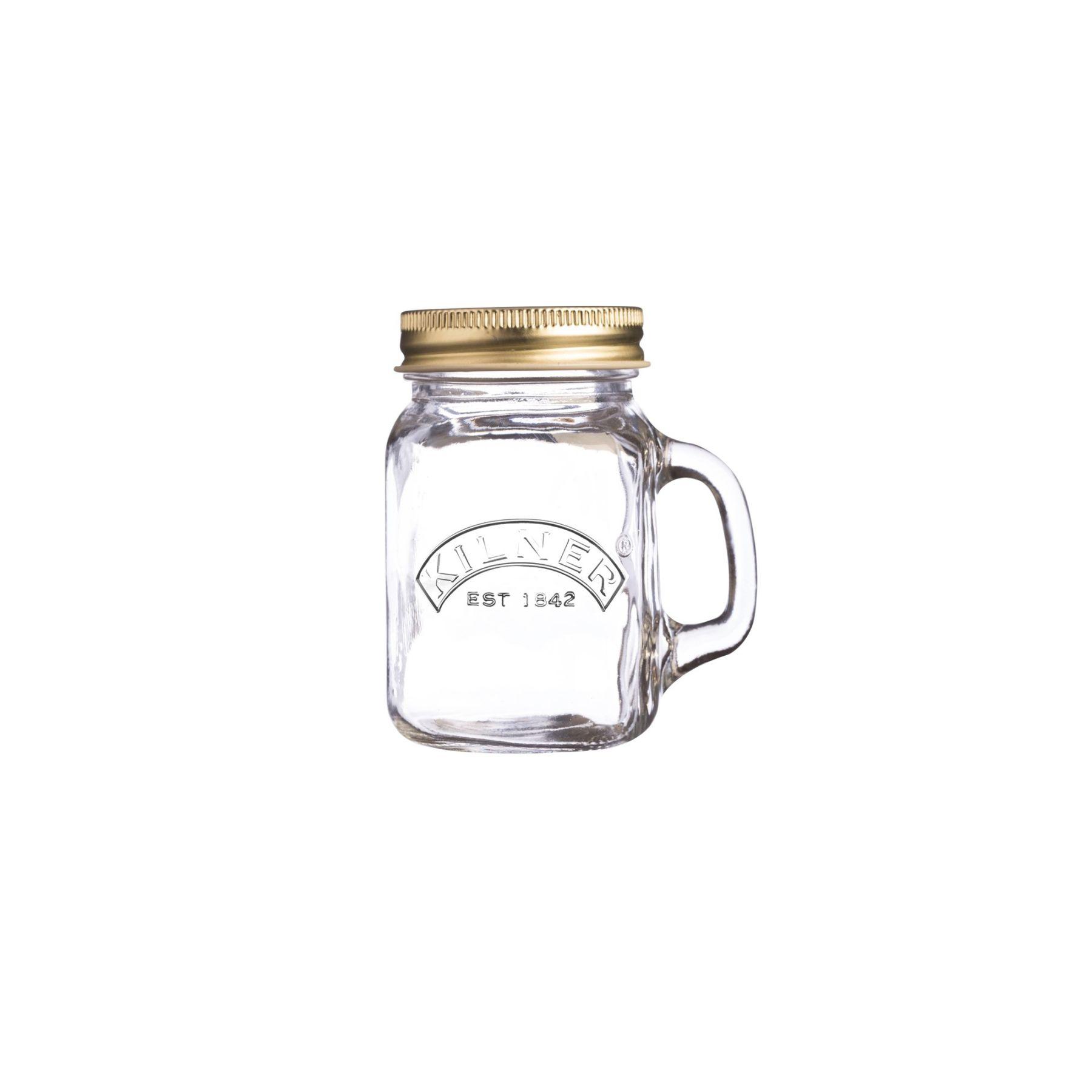 Skleněný mini džbánek s rukojetí 0,14l - Kilner