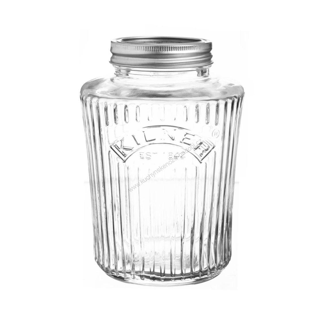 Kulatá zavařovací sklenice 1l Vintage - Kilner