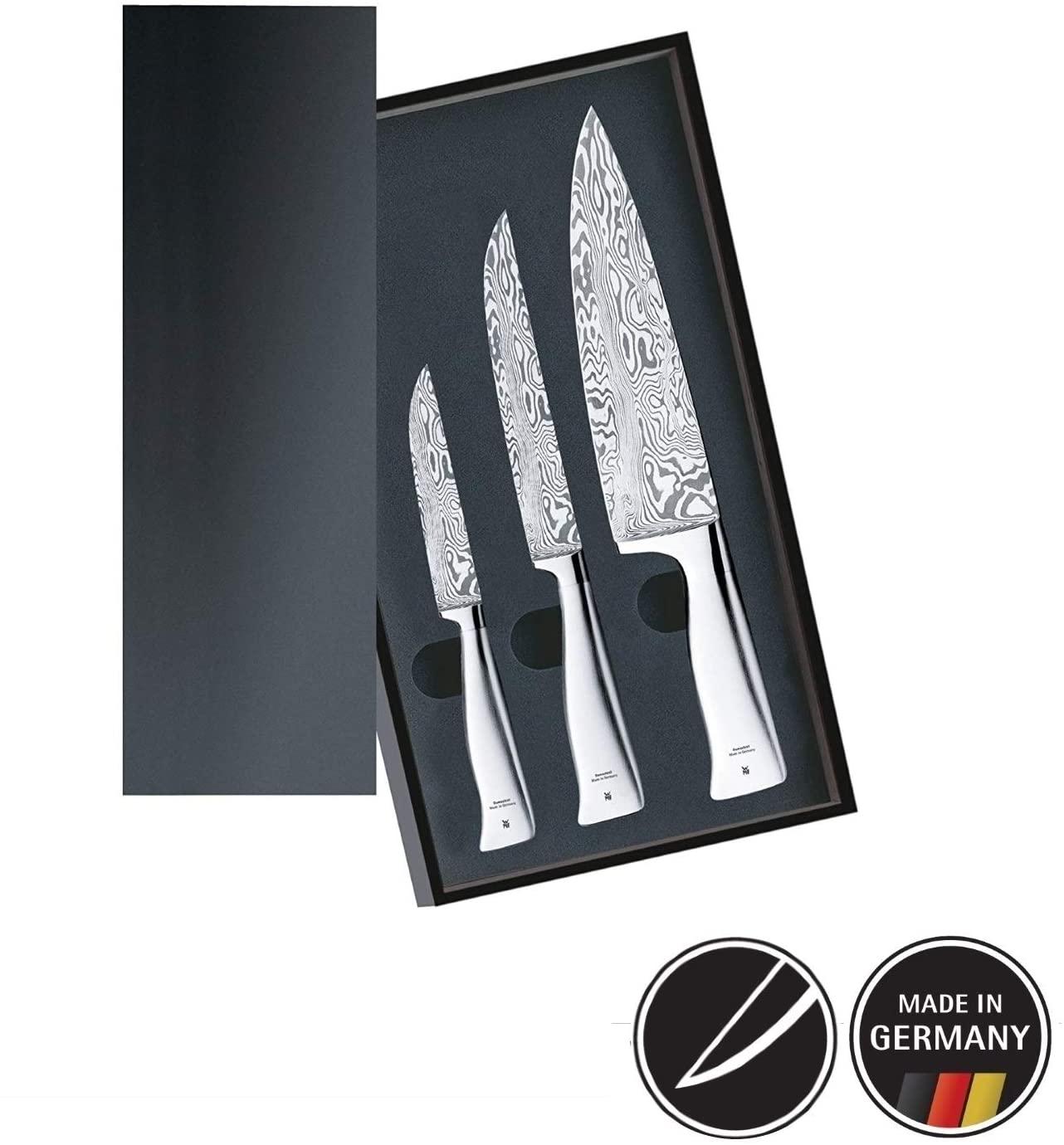 Set kuchyňských nožů Damasteel 3 ks - WMF