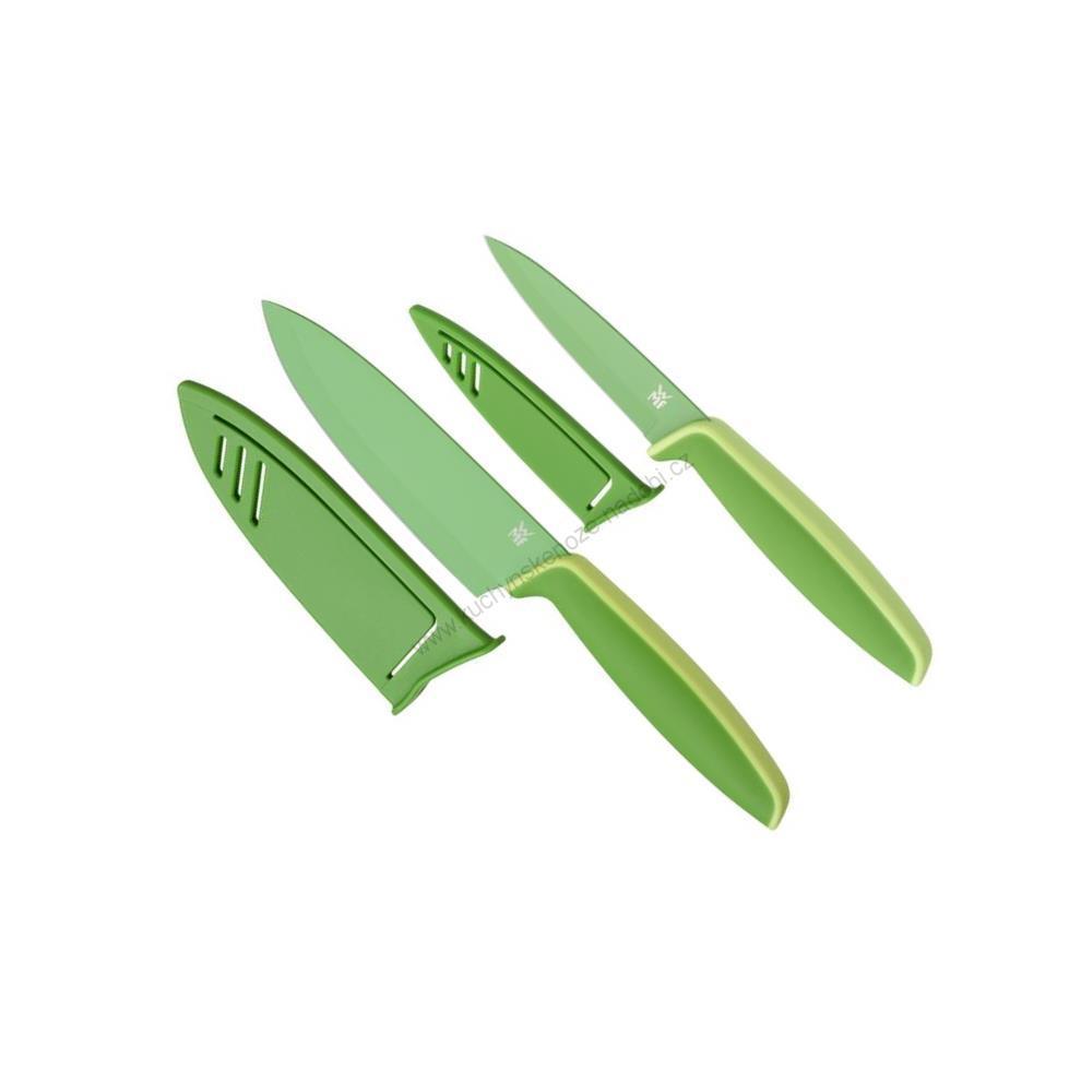 Set 2 ks kuchyňských nožů TOUCH, zelený - WMF