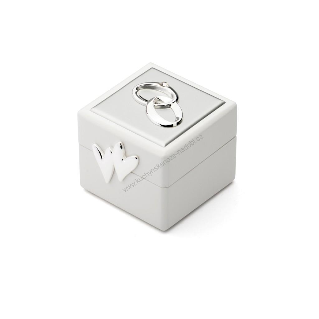 Dárková krabička na snubní prstýnky - Zilverstad