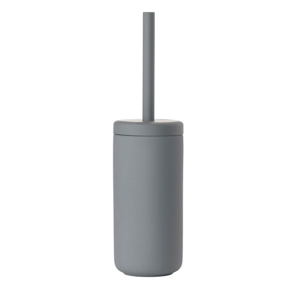 WC kartáč BULLI, šedý - Zone