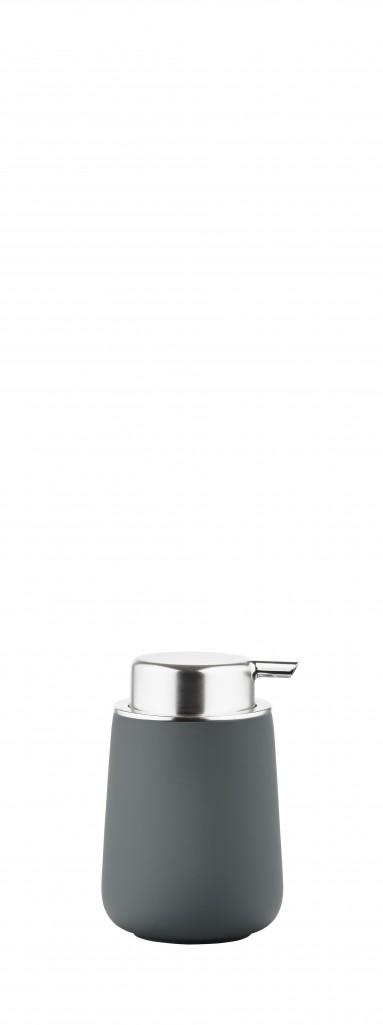 Dávkovač na tekuté mýdlo NOVA, šedý - Zone
