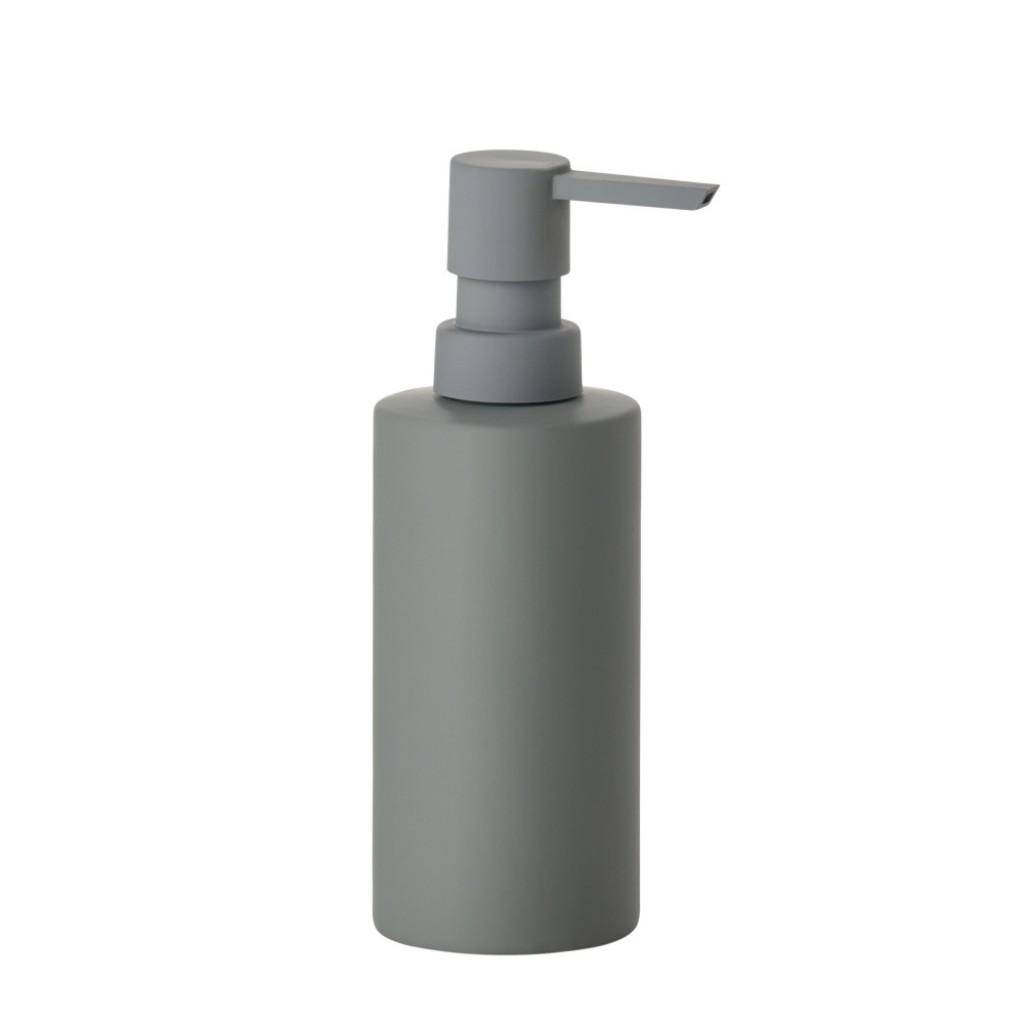 Dávkovač na tekuté mýdlo SOLO, šedý - Zone
