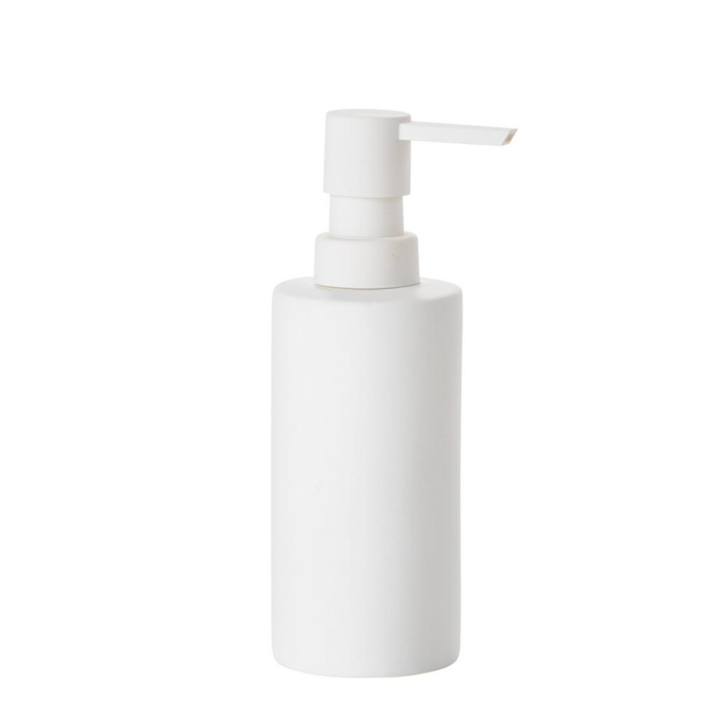 Dávkovač na tekuté mýdlo SOLO, bílý - Zone