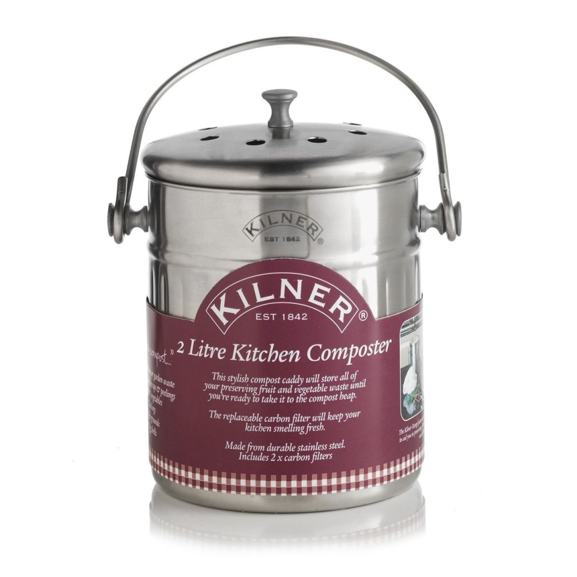 Kuchyňský kompostér, 2 l - Kilner
