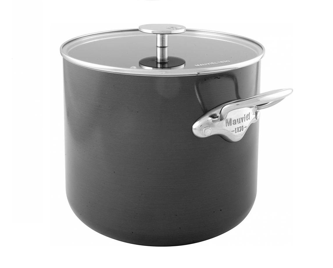 Vysoký hrnec na polévku s poklicí M´Stone 3, 24 cm - Mauviel