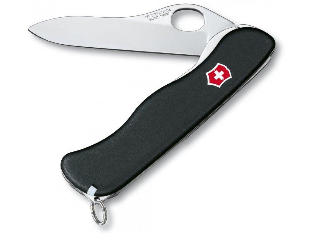 Kapesní nůž SENTINEL ONE HAND nylon černý - Victorinox