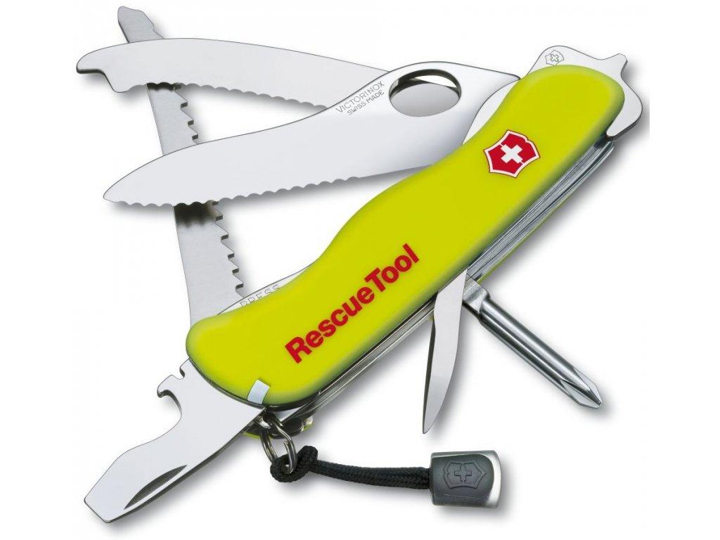 Kapesní nůž RESCUE TOOL reflex žlutá - Victorinox