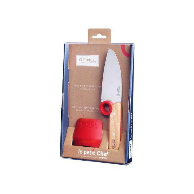 Dětský kuchařský nůž s chráničem prstů - Opinel