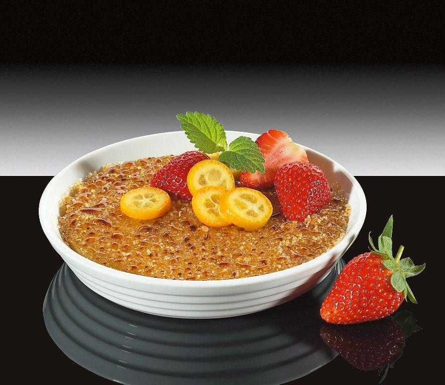 Miska na Creme Brulee BURGUND 15 cm - Küchenprofi