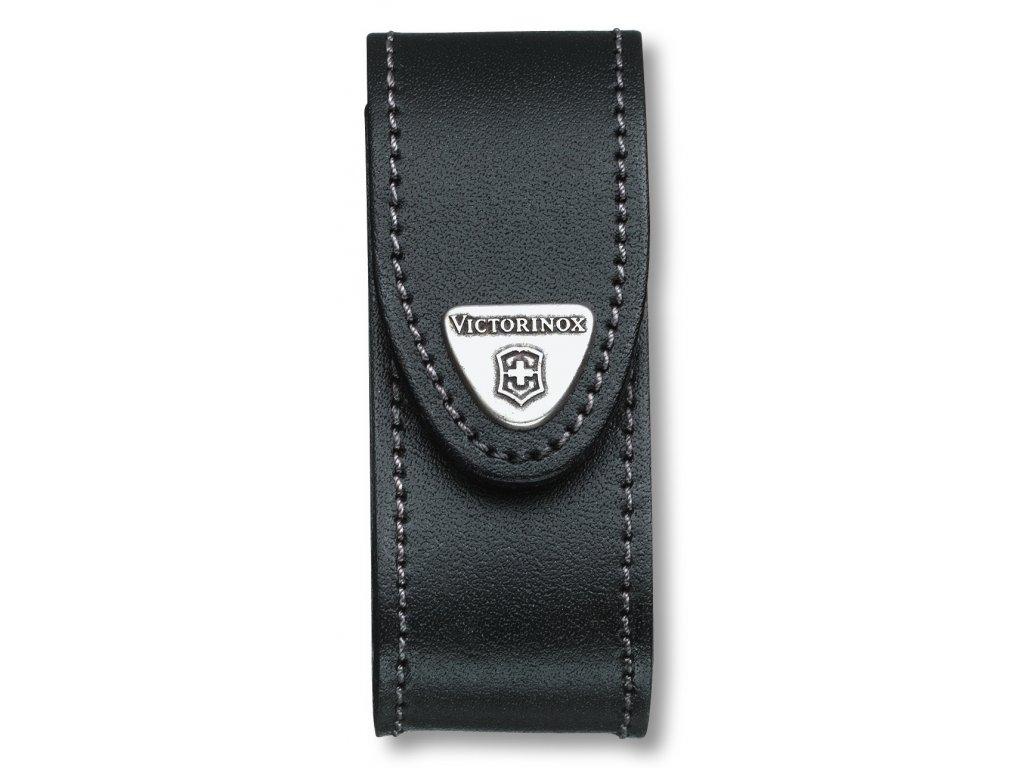 Kožené pouzdro pro kapesní nože 91mm, černé - Victorinox