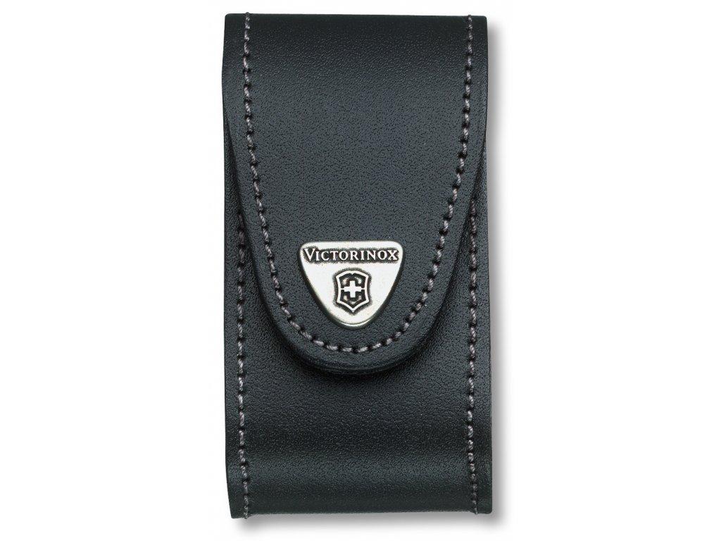 Černé pouzdro pro kapesní nůž 91mm, kožené - Victorinox