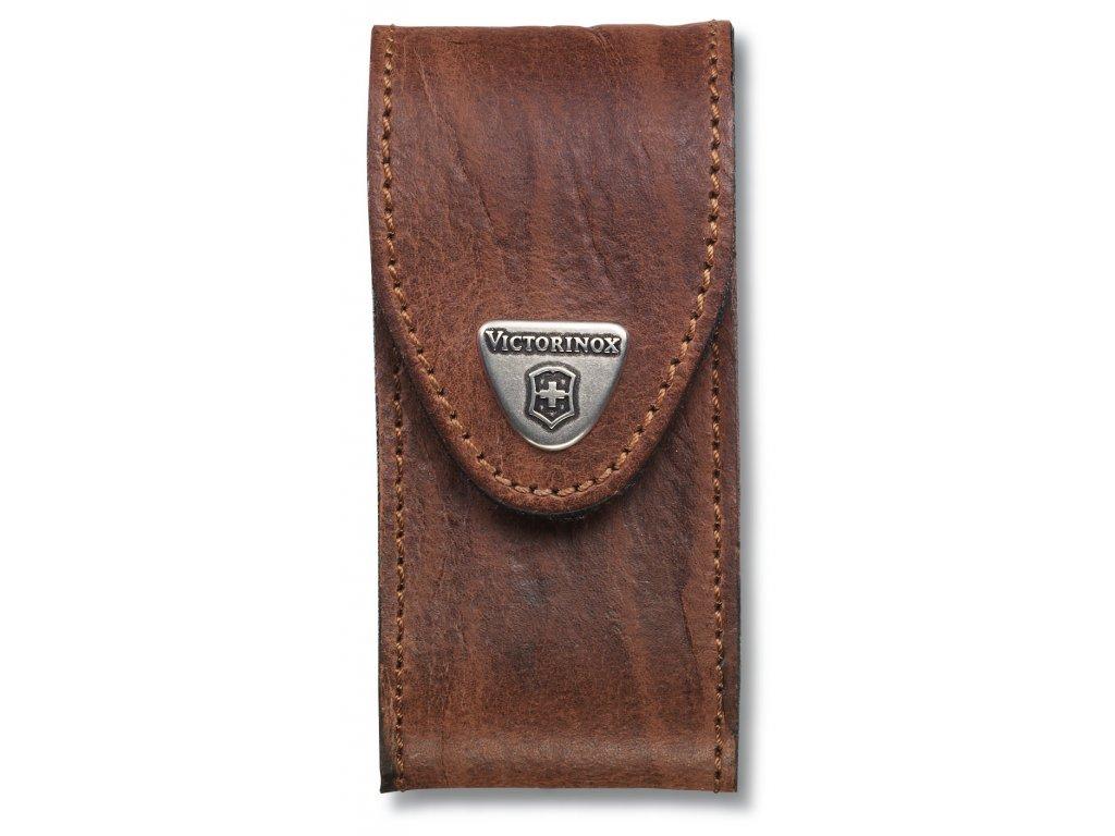 Kožené pouzdro pro kapesní nůž 91mm, hnědé - Victorinox