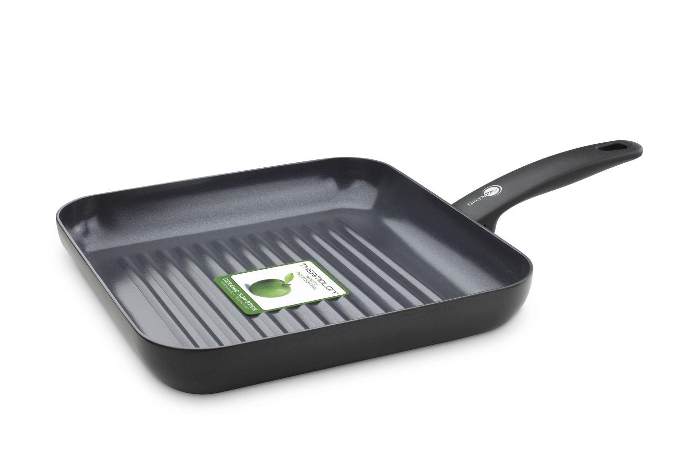 Grilovací pánev Cambridge Black 28 x 28 cm - GreenPan