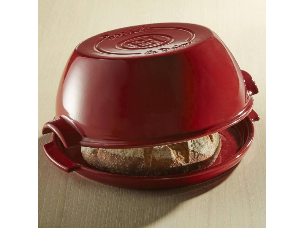 Forma na pečení domácího chleba Specialities červená 32,5 x 29,5cm - Emile Henry