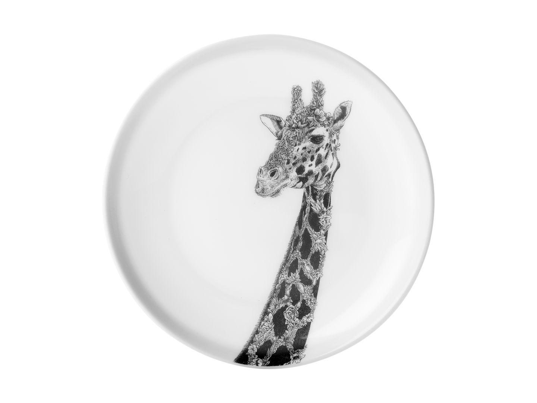 Porcelánový Talíř Marini Ferlazzo africká žirafa 20 cm - Maxwell&Williams