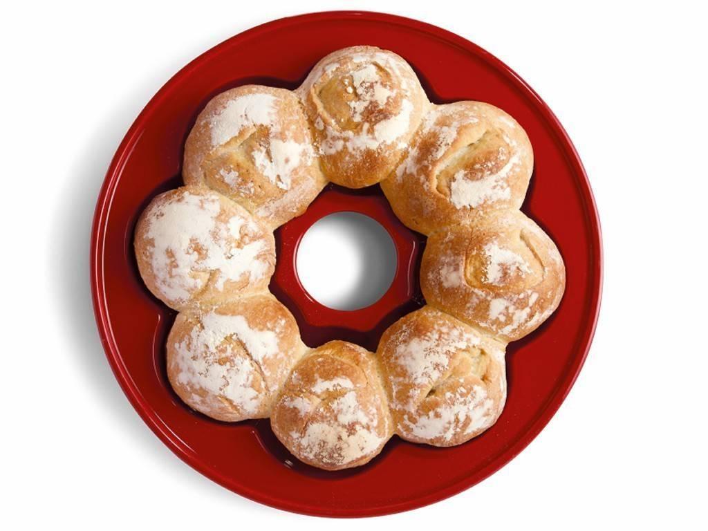 Forma na pečení domácího chleba Specialities granátová červená - Emile Henry