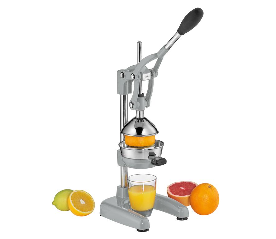 Pákový Lis na pomeranče AMALFI matný stříbrný - Cilio