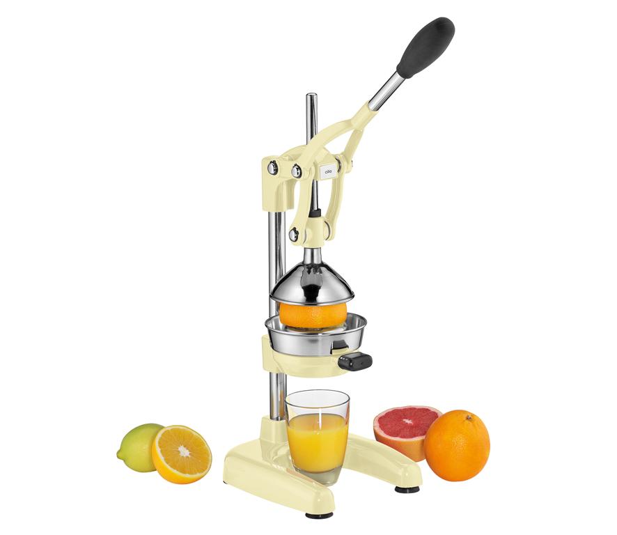 Pákový Lis na pomeranče AMALFI krémová - Cilio