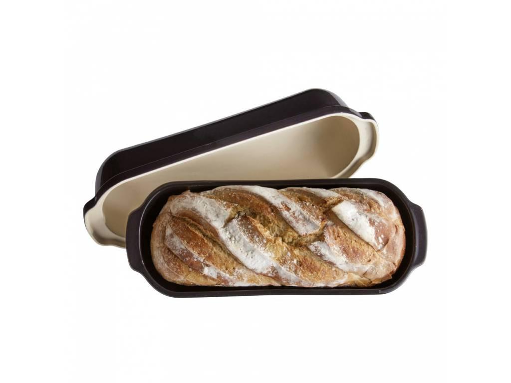 Forma na pečení chleba Specialities Charcoal pepřová 39,5 x 16 cm - Emile Henry