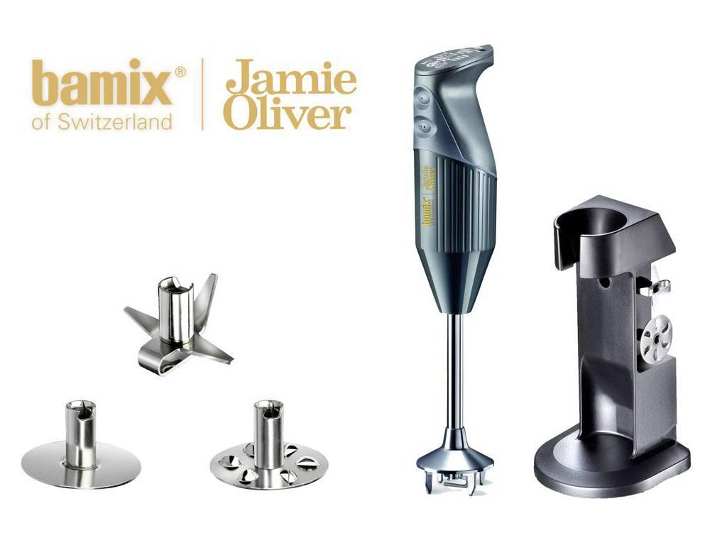 Ruční tyčový Mixér JAMIE OLIVER M200 W antracitový - Bamix