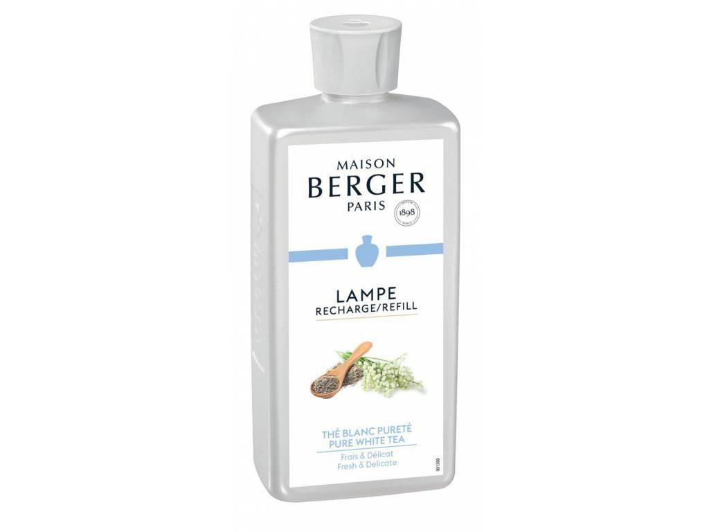 Náplň do katalytické lampy čistý bílý čaj 500 ml - Maison Berger Paris
