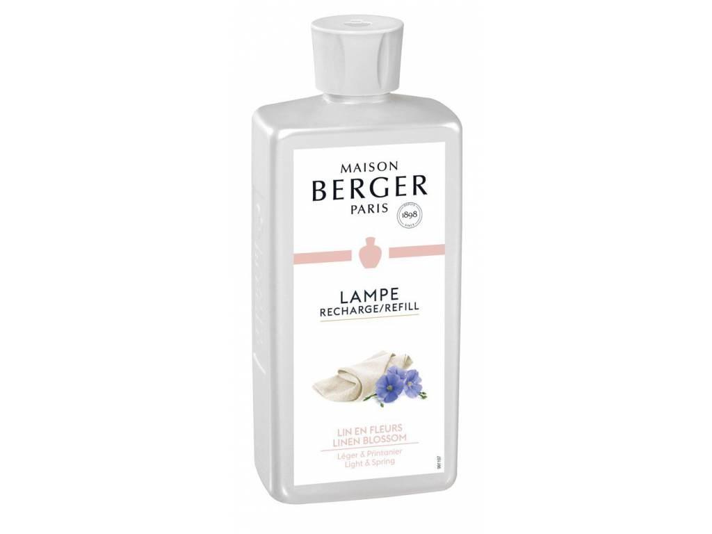Náplň do katalytické lampy Lněný květ 500 ml - Maison Berger Paris
