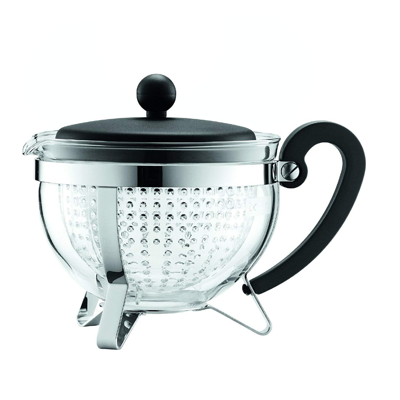 Konvice na čaj CHAMBORD 1,0 l černá - Bodum