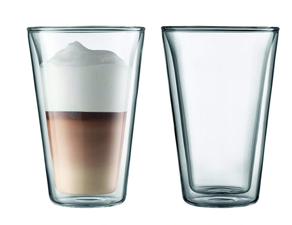 Set 2 ks Dvoustěnná sklenice CANTEEN 0,4 l - Bodum