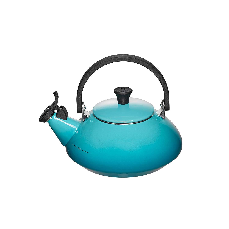 Konvice na vaření vody ZEN 1,5l Karibsky modrá - LE CREUSET