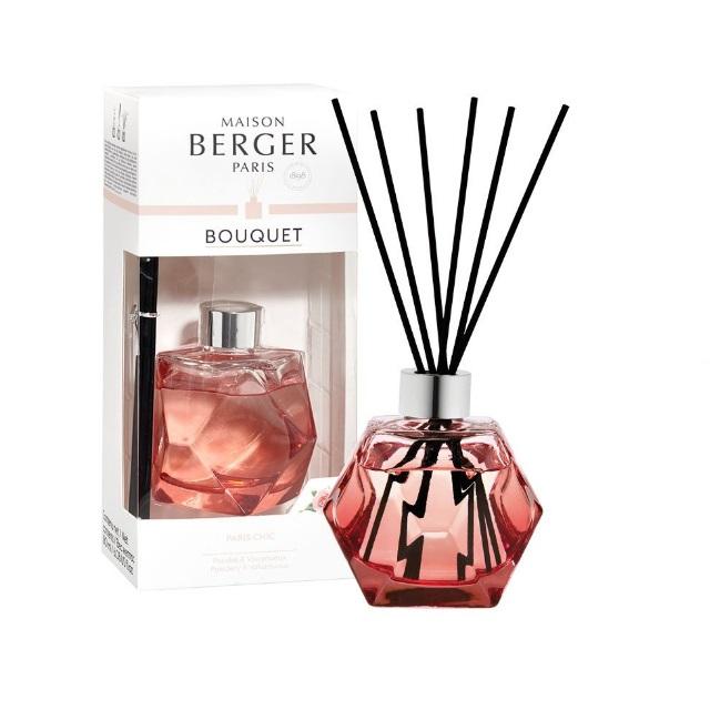 Aroma Difuzér GEOMETRY červený PARIS CHIC 180 ml - Maison Berger Paris