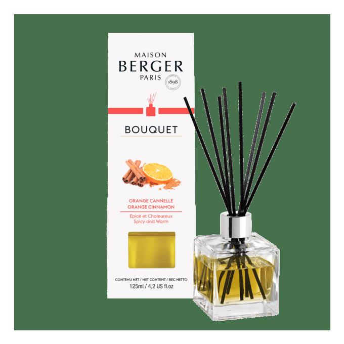 Aroma Difuzér CUBE Pomeranč a skořice 125 ml - Maison Berger Paris
