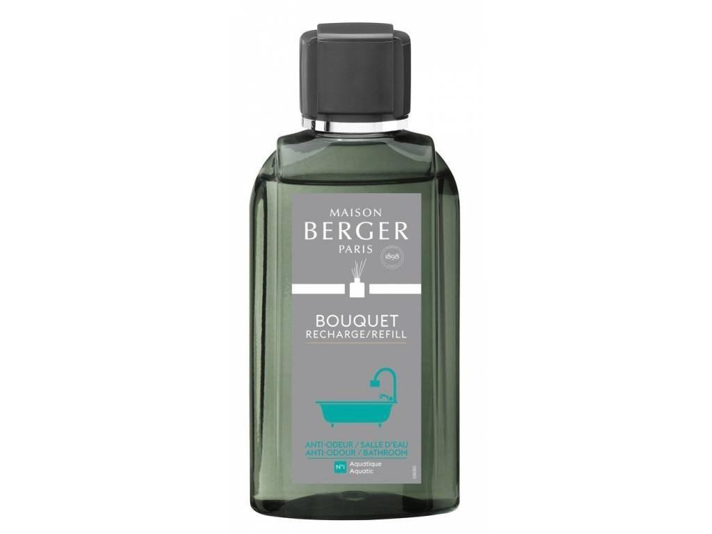 Náplň do difuzéru Proti zápachu z koupelny Aquatic 200 ml - Maison Berger Paris