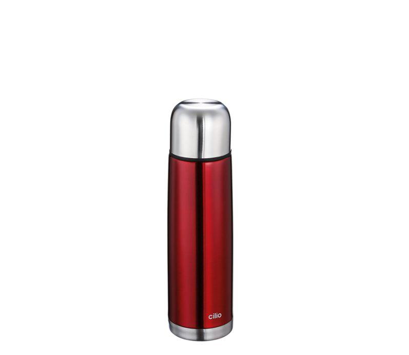 Termoska metalicky červená 0,5 l - Cilio