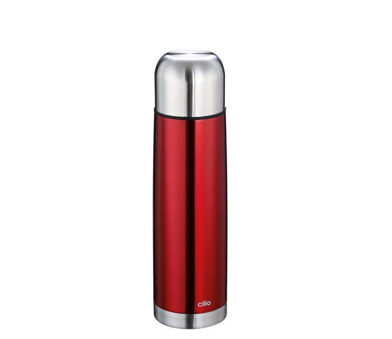 Termoska metalicky červená 0,75 l - Cilio