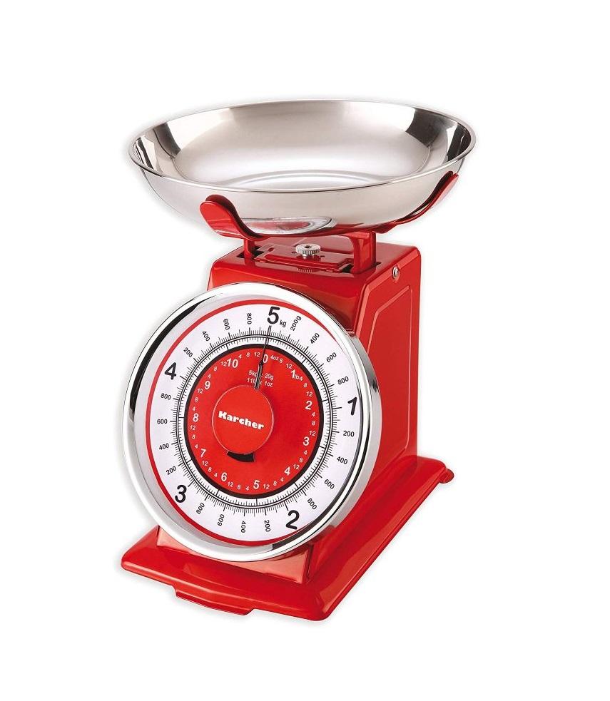 Kuchyňská Retro váha červená - Karcher