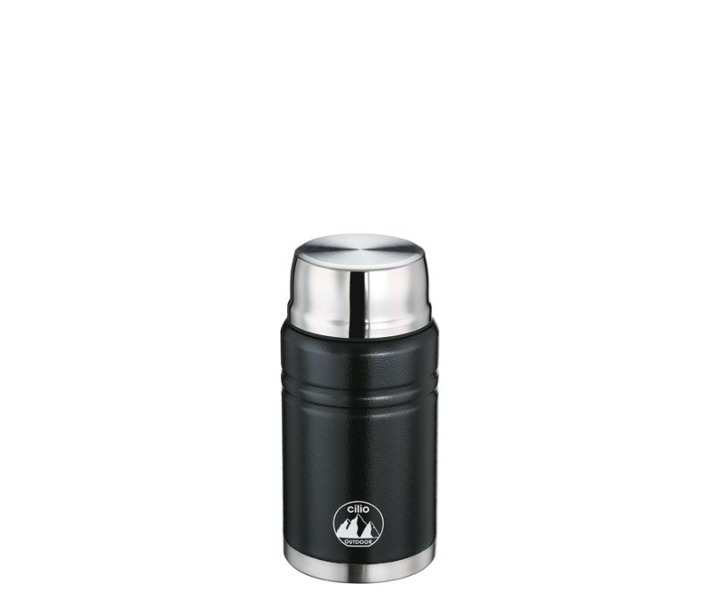 Termoska na jídlo MONTE černá 750 ml - Cilio