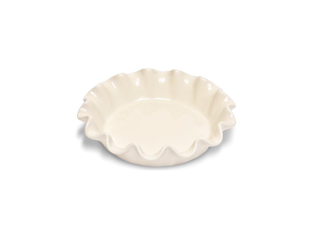 Koláčová forma krémová 26,5 cm - Emile Henry