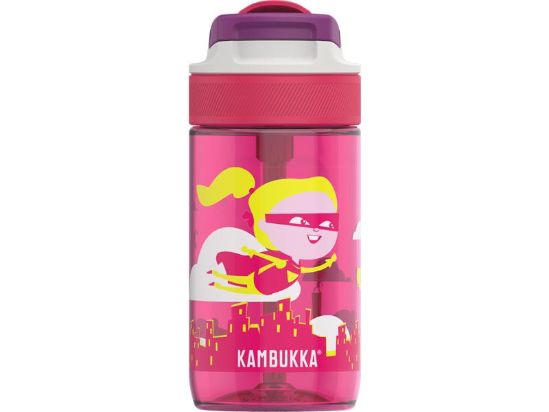 Dětská Láhev na pití Lagoon Flying Supergirl 400 ml - Kambukka