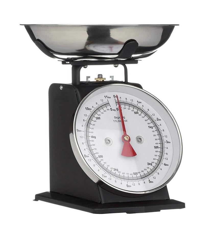 Kuchyňská Retro váha 5 kg černá - Premier