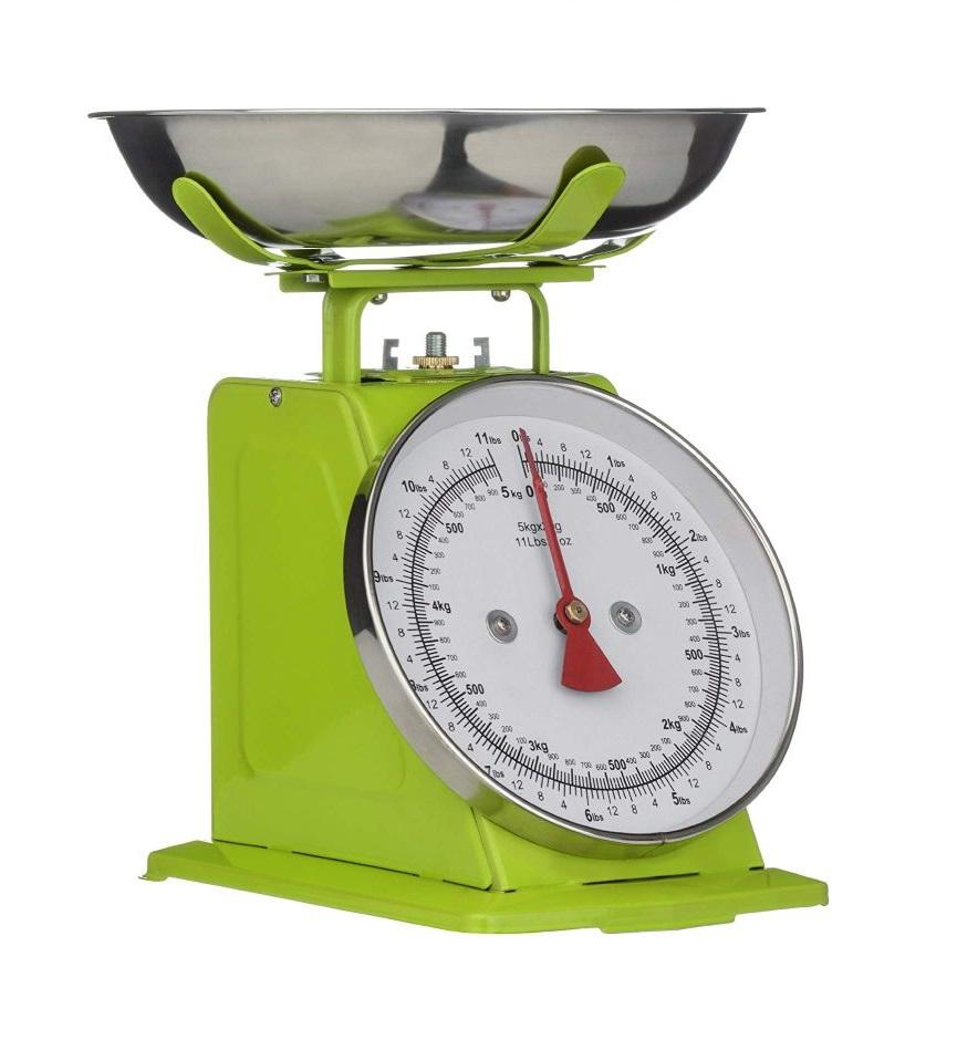 Kuchyňská Retro váha 5 kg zelená - Premier