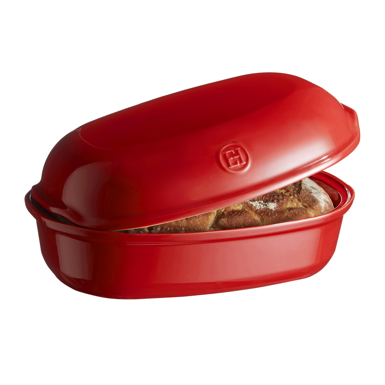 Forma na pečení chleba oválná 34 x 22cm červená Burgundy - Emile Henry