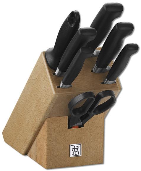 Sada nožů Vier Sterne v bloku, 8 ks - ZWILLING J.A. HENCKELS Solingen