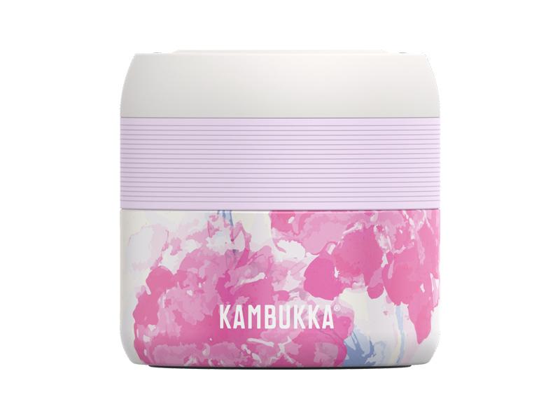 Termo nádoba na jídlo BORA Pink Blossom 400ml - Kambukka