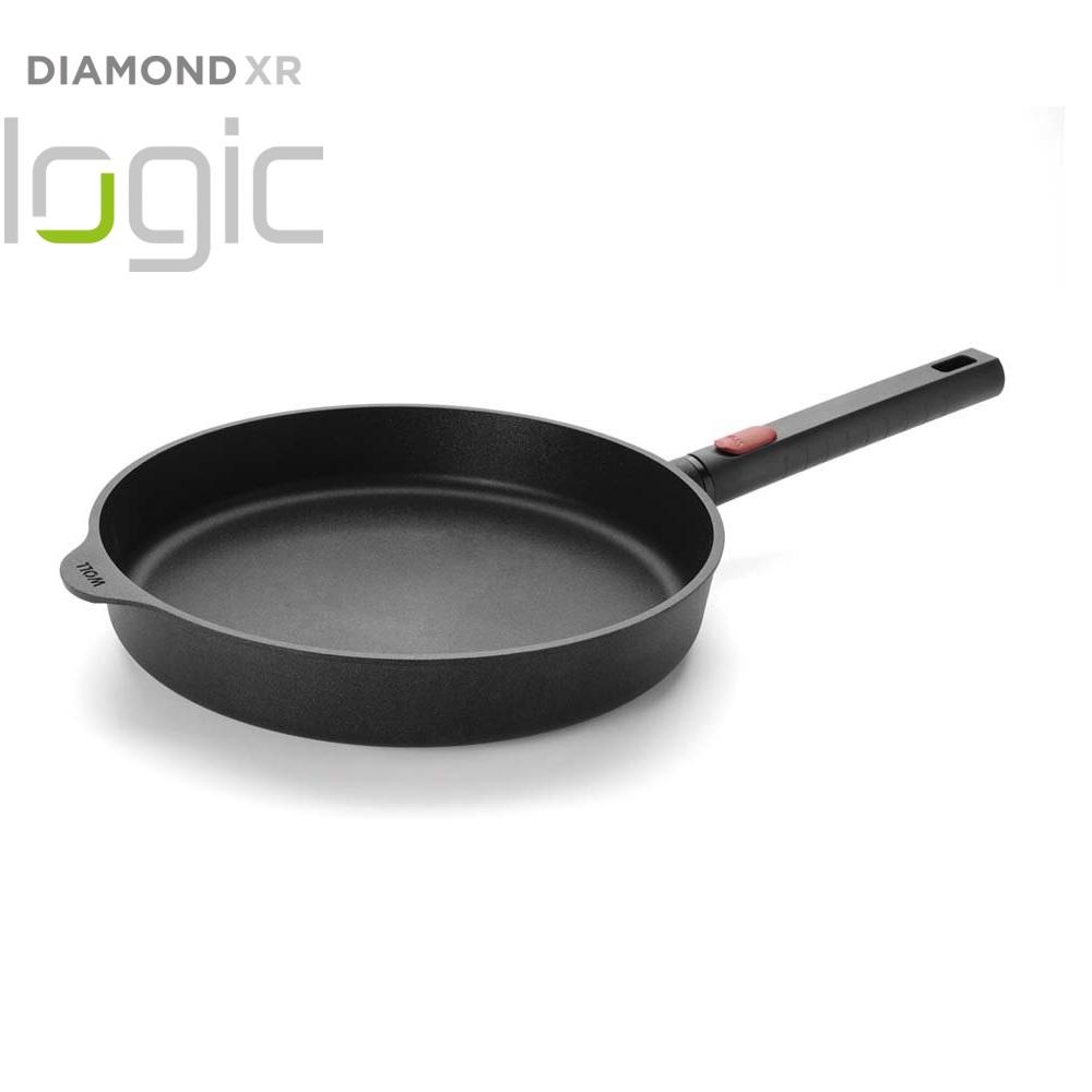 Pánev Diamond XR Logic s odnímatelnou rukojetí 28 cm - WOLL