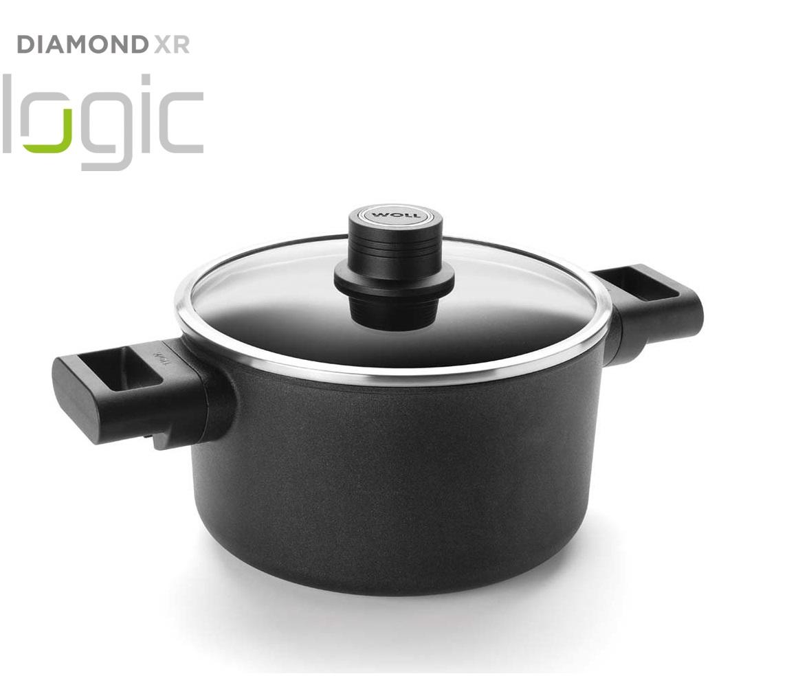 Hrnec s poklici Diamond XR Logic 20 cm - WOLL